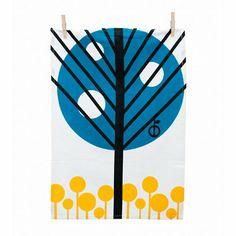 Ferm Living tea towel | Scandinavian Style | Homeware | Interiors | Red Online