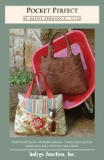 Pocket Perfect purse sewing pattern by Indygo Junction