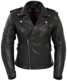 Men's Leather Jackets: How To Choose The One For You. A leather coat is a must for each guy's closet and is likewise an excellent method to express his individual design. Leather jackets never head out of styl Womens Black Leather Jacket, Leather Men, Leather Jackets, Cowhide Leather, Real Leather, Womens Harley Davidson Boots, Riding Jacket, Riding Gear, Moto Jacket