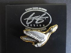 Canadian Goose Pewter Handcrafted Brooch FAF Designs Lead Free Canada New #FAFDesigns