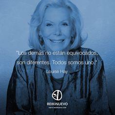 Louise Hay: Todos somos uno http://reikinuevo.com/louise-hay-todos-somos-uno/