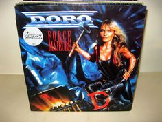 Doro - Force Majeure GER 1989 Lp