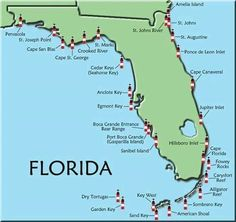 Florida Map Of All Beaches Click On An Area And A Thorough