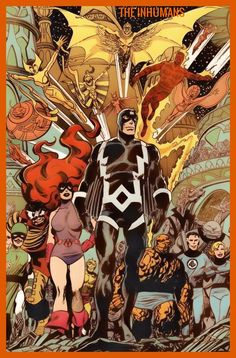 Inhumans and Fantastic Four