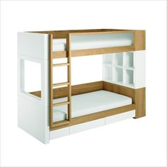 nurseryworks duet bunk bed