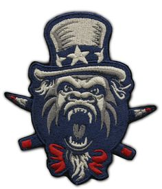 """Clink Room """"Patriot Kong"""" Patch"""