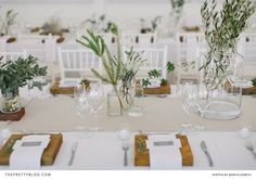 Natural Nuptials: A Celebration of Light & Love | Real weddings | Table Decor | Photography by Lisa Rieken and Jenni Elizabeth