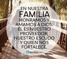 En nuestra familia amamos a Dios
