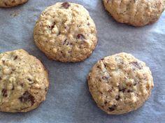 Cookies s čokoládou a ovesnými vločkami Healthy Food, Healthy Recipes, Ciabatta, Cheesecake, Pizza, Cookies, Fit, Blog, Healthy Foods