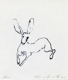 Tracey Emin RA's HARE at the RA Summer Exhibition 2015