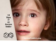 Think you might have an anxious toddler? Read these 10 signs of an anxious toddler - by a child therapist. Anxiety In Children, Anxiety In Toddlers, Psych, Childhood Fears, Signs Of Anxiety, Sensory Issues, Nerd, Princesses
