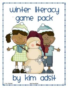 These games will be sure to chase away those winter blahs! This packet contains 5 different literacy games centered around a Winter  theme includin...