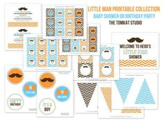 printable little man collection