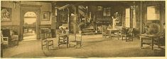Bennett College (New York) - Common room, c. 1908