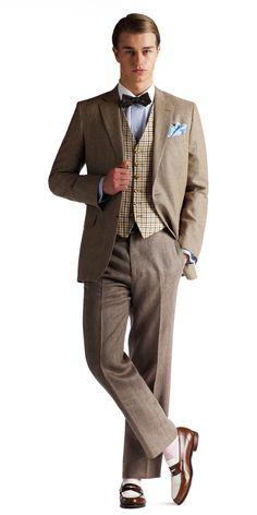 Great Gatsby Men's Fashion & Brooks Brothers Clothing — Gentleman's Gazette
