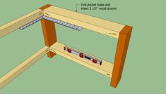 This step by step diy project is about how to build a coffee table. We show you how to build a simple coffee table, using wooden boards and common tools. Build A Coffee Table, Simple Coffee Table, Wood Table, Aprons, Diy Projects, Building, Furniture, Home Decor, Board