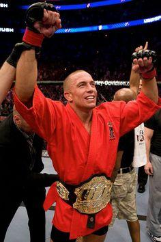 GSP-UFC Welterweight champ.