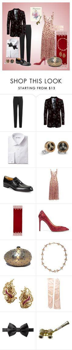 """The Season Begins!!"" by sandjpopescu ❤ liked on Polyvore featuring Dolce&Gabbana, Alexander McQueen, Deakin & Francis, A. Testoni, Sandra Mansour, Valentino, Judith Leiber and Tiffany & Co."