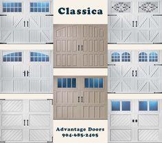 Amarr Garage Doors - Classica Collection.  www.steeldoordepot.com
