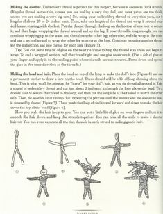 worry doll instructions