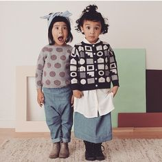 Sneak Peak: Introducing @micaela_greg to the lineup. Amazing knits for infants, kids and women coming at you for #Fall2015 #CovetAndLou #CovetAndLouKids