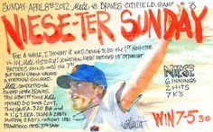 Jon Niese takes No hitter into 7th