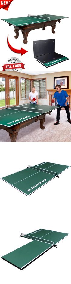 Tables 97075: Table Tennis Conversion Top Folding Ping Pong Indoor Portable  Game Room Pool New