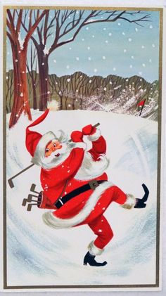 Mesmerizing Things to Consider When Buying Golf Clubs Ideas. All Time Best Things to Consider When Buying Golf Clubs Ideas. Vintage Christmas Cards, Christmas Greeting Cards, Christmas Greetings, Christmas Gifts, Holiday, Golf Club Fitting, Golf Card Game, Dubai Golf, Golf Ball Crafts