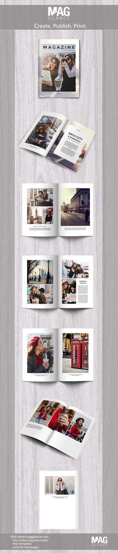 Fotoboek gratis online aanmaken en goedkoop afdrukken onder https://nl.magglance.com/fotoboek/fotoboek-maken #fotoboek #design #motief #voorbeeld #template #ontwerpen #aanmaken #layout #fotomagazine #online