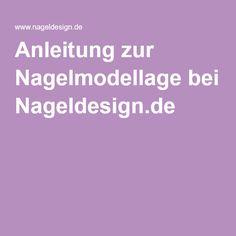 Anleitung zur Nagelmodellage bei Nageldesign.de