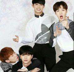 Eunkwang, Sungjae, Changsub e Hyunsik Btob