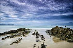 Daytime long exposure with my Fujifilm X-E2.   Snapper Rocks Beach in Coolangatta, QLD