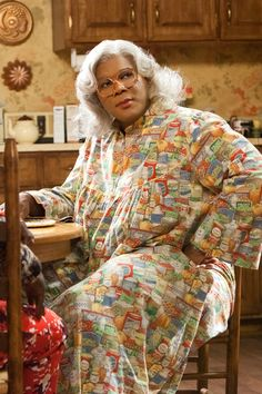 images of madea | Madea (Tyler Perry) in TYLER PERRY'S MADEA'S BIG HAPPY FAMILY. Photo ...