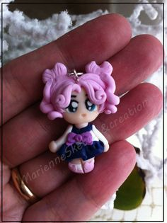 CHIBI CHIBI Sailor Moon  Handmade  Fimo, polymer clay of MarienneCreations