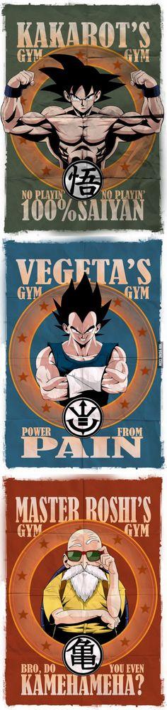 Posters para un Gym