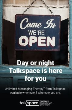 Talkspace matches you with a Licensed Online Therapist whom you can privately chat about career, family or relationship issues anytime & anywhere. Discover how over 300,000 users are living better today. Unlimited messaging, audio, & video plan available starting @ $32/wk. Get Matched with Your Personal Therapist Now!