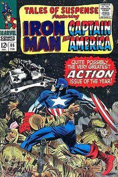 Tales of Suspense 86. Por Jack Kirby #CapitánAmérica #TalesOfSuspense #JackKirby