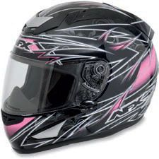 AFX FX-95 #Full #Face Lines #Motorcycle #Helmets in a nice pink for the ladies!