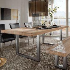 Der Esszimmertisch Amalfi ALU Vereint Hochwertiges Holz Mit Mit Edlen  Tischbeinen Aus Aluminium Oder Optional Mit Edelstahlfüßen. Kurzum: U2026
