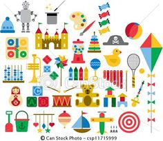 ベクター - おもちゃ - ストックイラスト, ロイヤリティーフリーイラスト, ストッククリップアートアイコン, ロゴ, ラインアート, EPS画像, 画像, グラフィック, ベクター画像, アートワーク, EPSベクターアート