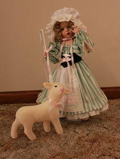 Retired Ashton Drake Little Bo Peep Nursery Rhymes Porcelain Doll w Access Box | eBay