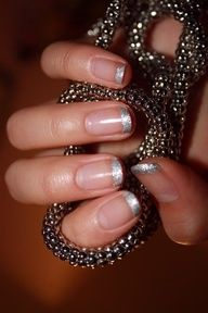 wedding nails ;)