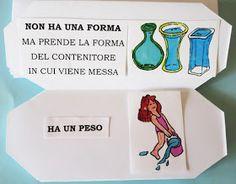 Studiamando liberamente: Lapbook: L'acqua Montessori, Chemistry, Convenience Store, Science, Camilla, Books, Coding, School, Environment