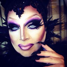 Jeremy Clark as Maleficent Halloween 2013