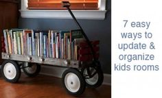7 easy ways to update & organize kids rooms | Buttoned Up