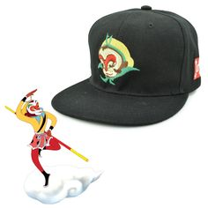 0a6b6d9de5d35 Chinese Journey to the West Son Goku Wukong Monkey King unique Adjustable  HipHop Baseball snapback caps Hat For Adult Men Women