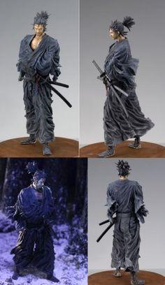 VAGABOND - Sculpture Arts Musashi Polyresin 26 cm