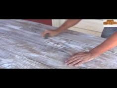 How To Paint Wood To Look Old and Weathered - YouTube