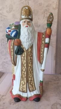 Santa around the world collectable porcelain figurine by Traditions
