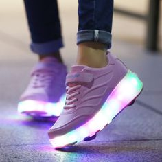 Children Shoes with Led Flashing Lights
